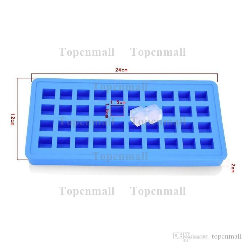 40 Grid DIY Creative Sphere Small Round And Square Ball Ice Brick Cube Maker Tray Mold Mould Bar Drink Whiskey Ice Tray TPML-4256