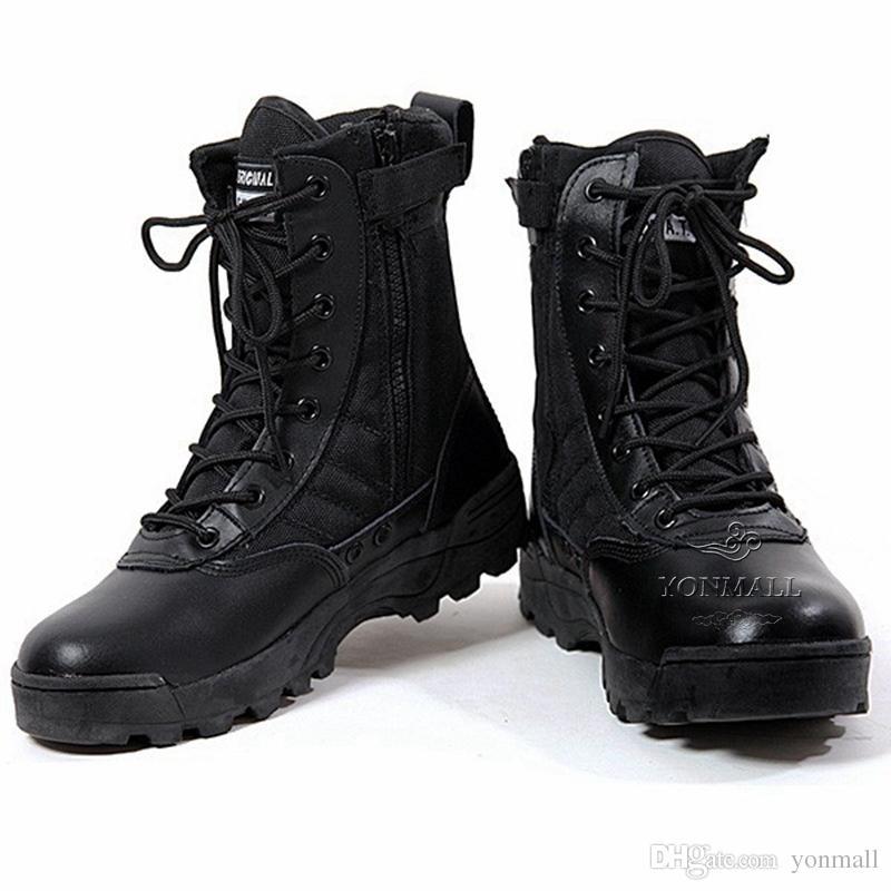 Botas Militares De Hombre
