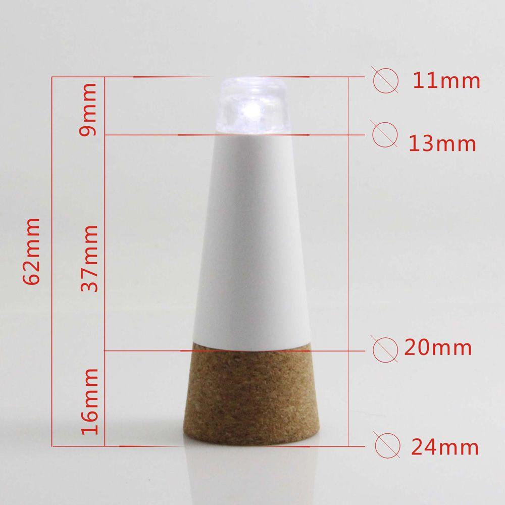 Свет оригинальности Пробка перезаряжаемый USB-фонарь в форме пробки, Бутылка светодиодная ЛАМПА Пробка Винная бутылка USB-светодиодный ночной свет