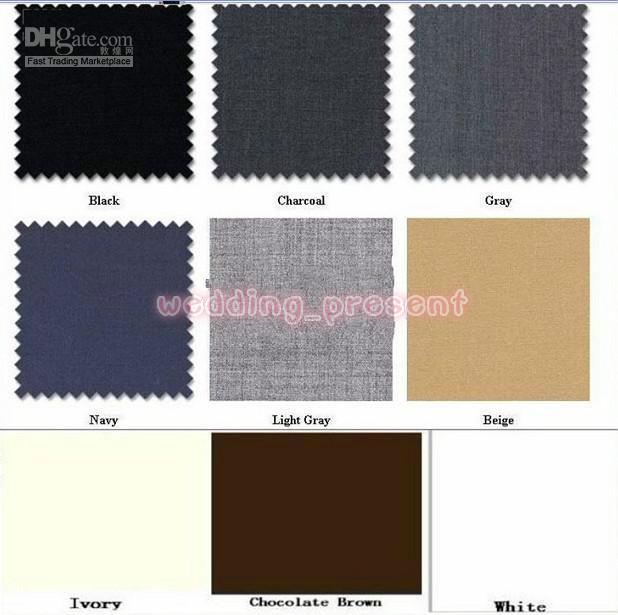European Style Slim Fit Groom Tailcoats Light Grey Custom Made Prom Groomsmen Men Wedding Suits  Jacket+Pants+Vest+Tie+Hanky