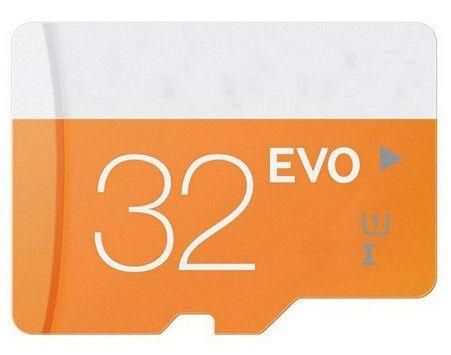 밀봉 된 포장을 가진 셀룰라 전화를위한 EVO 32GB 마이크로 메모리 SD 카드 종류 10 UHS-1 TF Transflash 카드 32GB