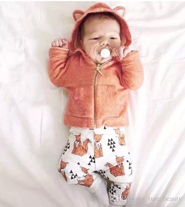 77d427c56 Retail !GOOD NEWS ! Baby Boy Girl Sweatshirts   White Printing ...