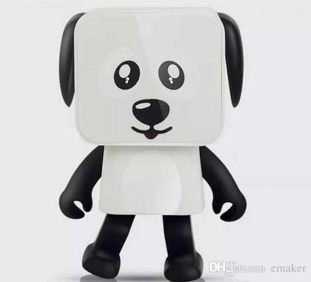NUEVO Dancing Dog Altavoces Bluetooth Portátil Mini Robot Electrónico Altavoces Estéreo Juguetes Electrónicos Para Caminar Con Música Altavoz Inalámbrico Juguete