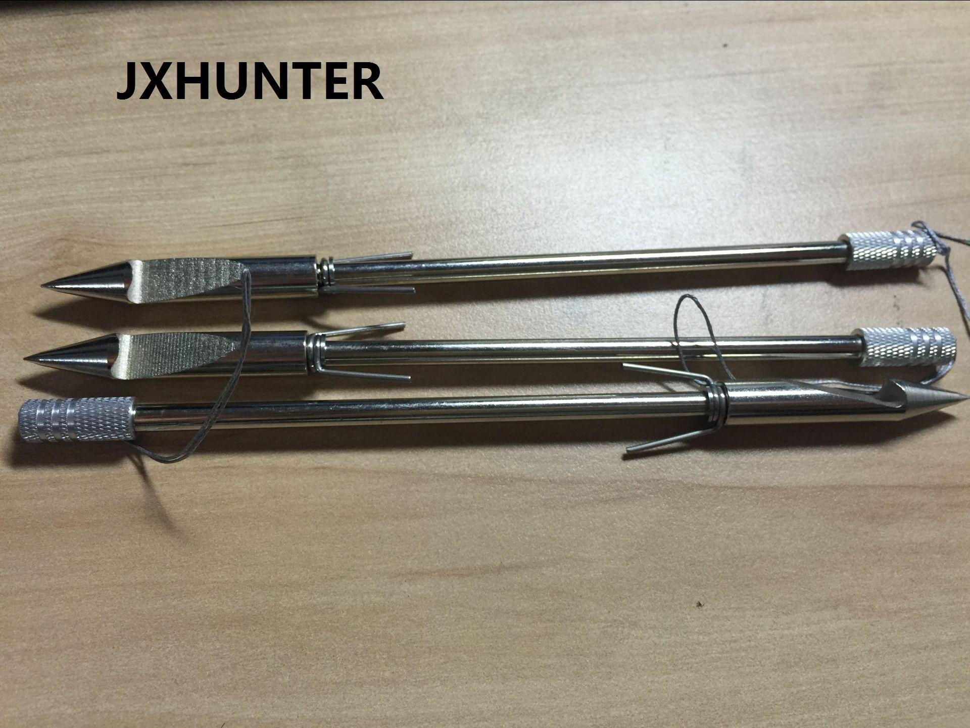 3 PK Steel Fishing Arrow Broadheads Arrowheads for Slingshot Fishing Hunting Tips 6.3 inches 35g