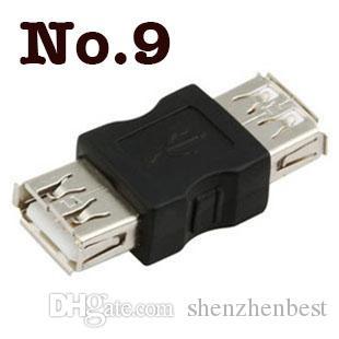 Envío gratis de buena calidad USB A hembra a un cambiador femenino del género USB 2.0 adaptador /