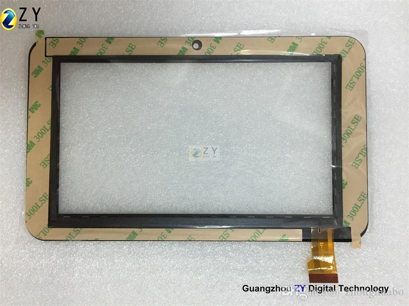 High quality 7 inch Tablet PC Capacitive Touch Screen touch panel digitizer Ampe A76 Sanei N77 Tablet MID Replacement ZJ-70055A/ZY TOUCH