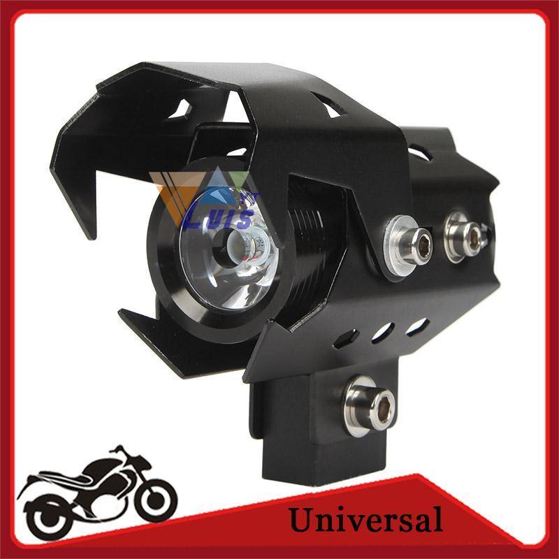cree u8 led headlight motorcycle dirt bike driving fog spot light