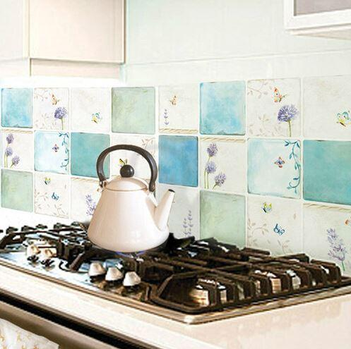 Modern Waterproof Kitchen Wallpaper Washable Wall Paper Adhesive Kitchen  Tiles Stickers Wild Screen Wallpaper Window Wallpaper From Wdl88, $42.22|  Dhgate.