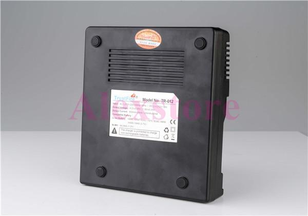 Orijinal Güven yangın TR-012 Dijital şarj trustfire Akıllı Çok Fonksiyonlu şarj ile 18650 18500 18350 Pil için 6 Yuvaları