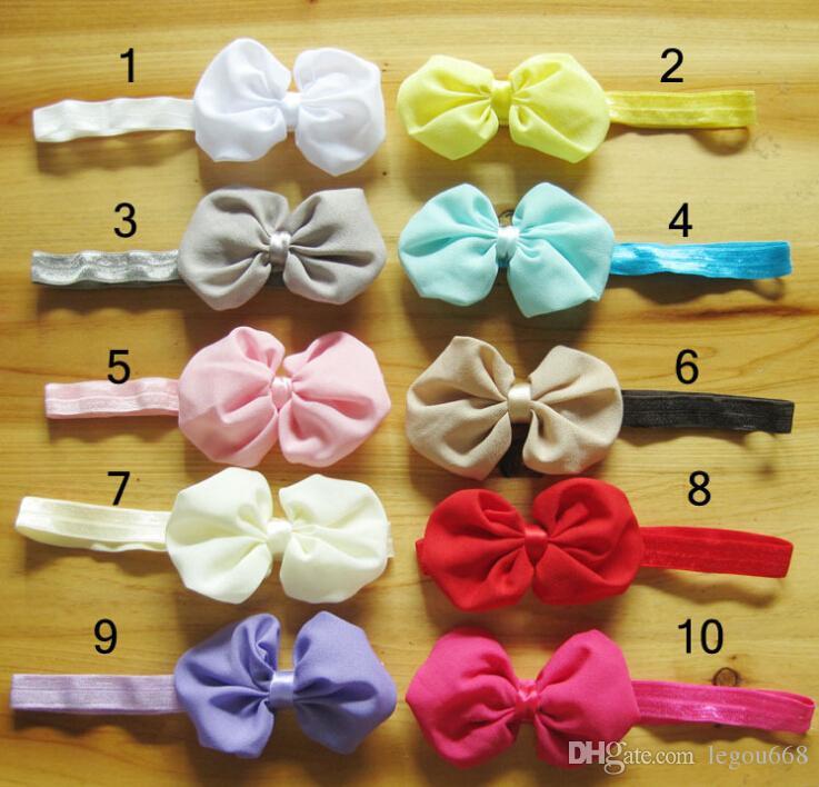 Infant Baby Headbands Girls Hair Bows Baby Hairband Headband Baby Girl Hair Accessories Baby Haarband Accesorios Para El Pelo JIA330