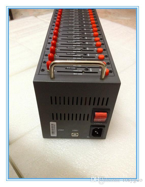 16 Kanal WAVECOM GSM / GPRS Modem Pool Q2403 USB-Modem für SMS-Sender