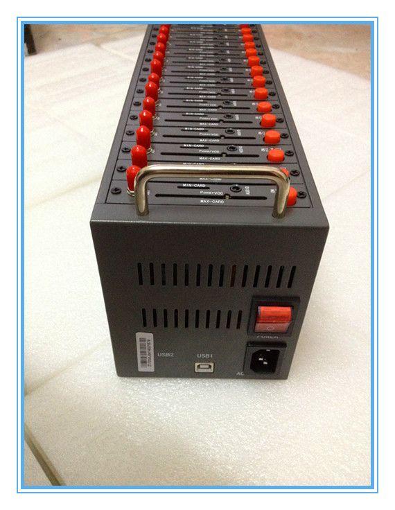 sms 방송사를위한 16 채널 WAVECOM GSM / GPRS 모뎀 풀 Q2403 usb 모뎀