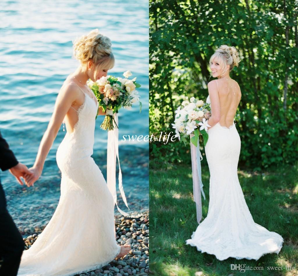 Katie May Wedding Dress: Katie May Lace Wedding Dresses 2016 White Sexy Backless