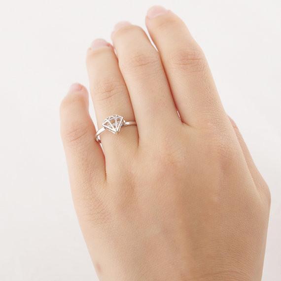 패션 입체 볼록 반지, 여성 손 구리 링 반지를 용접하는 것은 얇은 도금 반지 도매 무료 배송