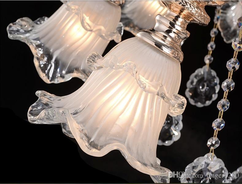 وصول جديد نوبل فاخر K9 كريستال الثريا فاخر K9 كريستال الثريا مصباح / الضوء / الإضاءة شحن مجاني