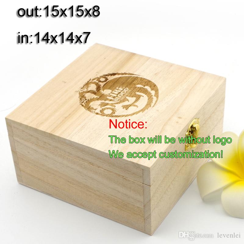 New Wood Boxes Jewelry Box Wooden Gift Case Primary Gifts Boxes ...