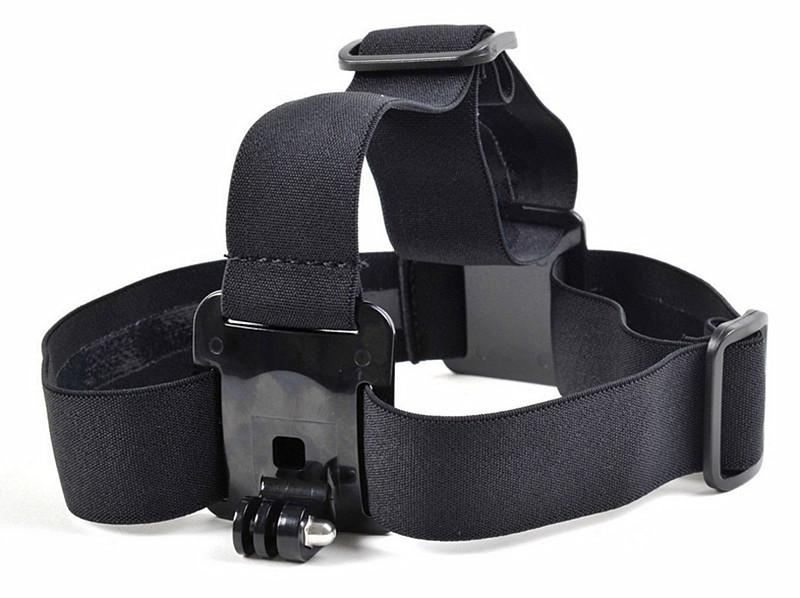 الملحقات Gopro مطاطا قابل للتعديل نايلون رئيس حزام حزام رئيس الفرقة جبل Adapterfor كاميرا HD HERO 1 2 3 3 SJ4000