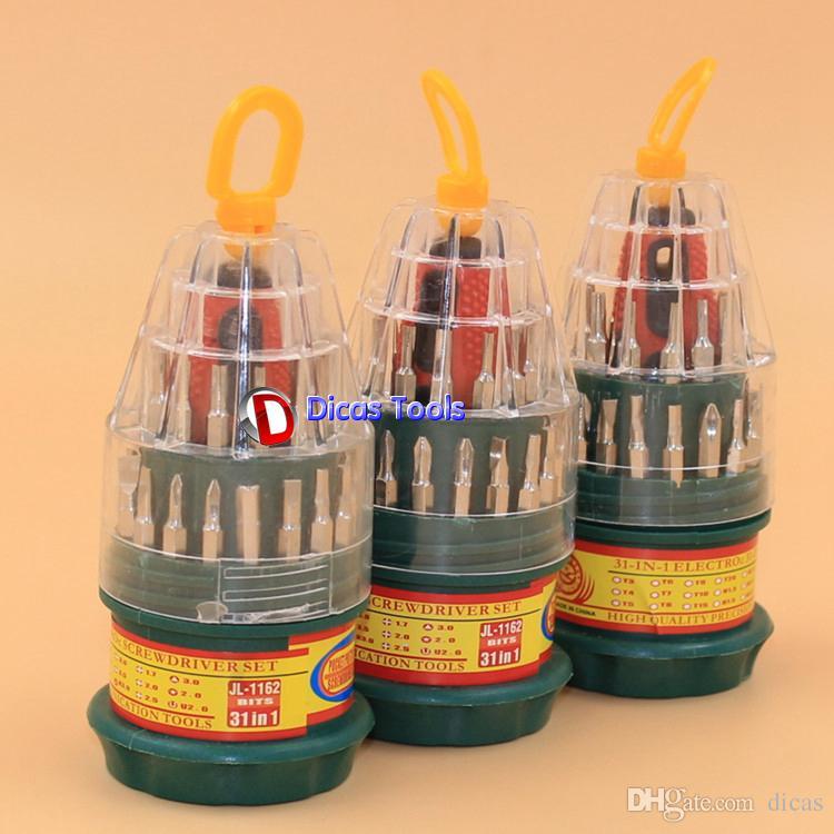 31 в одном многофункциональный набор отверток портативный тип комбинация отверток ручной набор инструментов