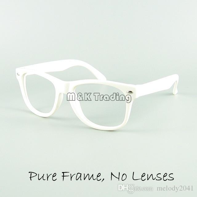 Çocuklar Gözlük Çerçeve Çocuk Komik Oyuncak Güneş Gözlüğü Çerçeve 12 Şeker Renkler Hiçbir Lens Moda Dekorasyon Gözlük