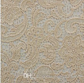 New Materials Water Soluble 3D African Lace Venice 2015 High Quality Fabric Wedding Evening Dress Gown Skirt Bridal Table Cloth Arabic