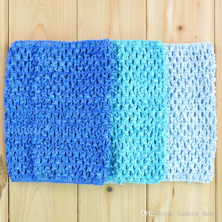 Baby Girls 6 inch Crochet Tutu Tube Tops Chest Wrap Wide Crochet headbands 15cm X 15cm