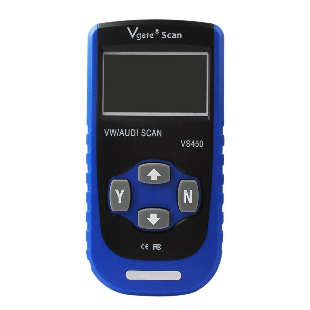 Vgate VS450 OBD2 Diagnóstico ABS Airbags Scanner Ferramenta Para Audi Seat Skoda Auto Diagnóstico Automotivo OBD2 Scaner DT_001