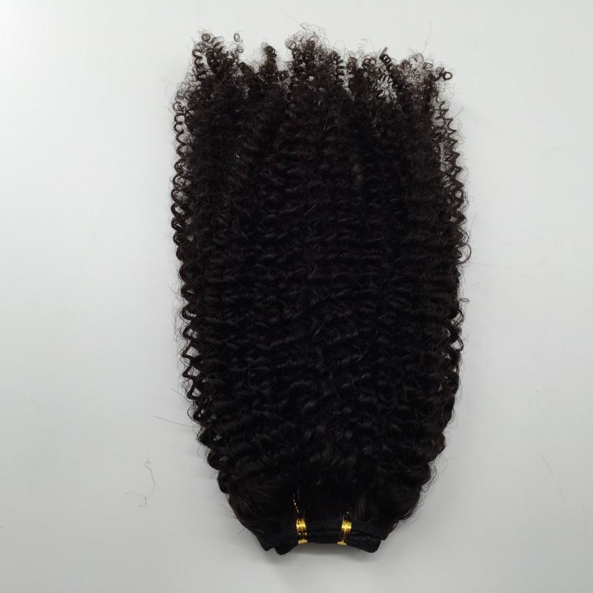 Goedkoop Peruviaans Braziliaans Haar Wefts Afro Kinky Krullend Haar Weeft Menselijk Haarverlenging 2bundles Snel Gratis Verzending