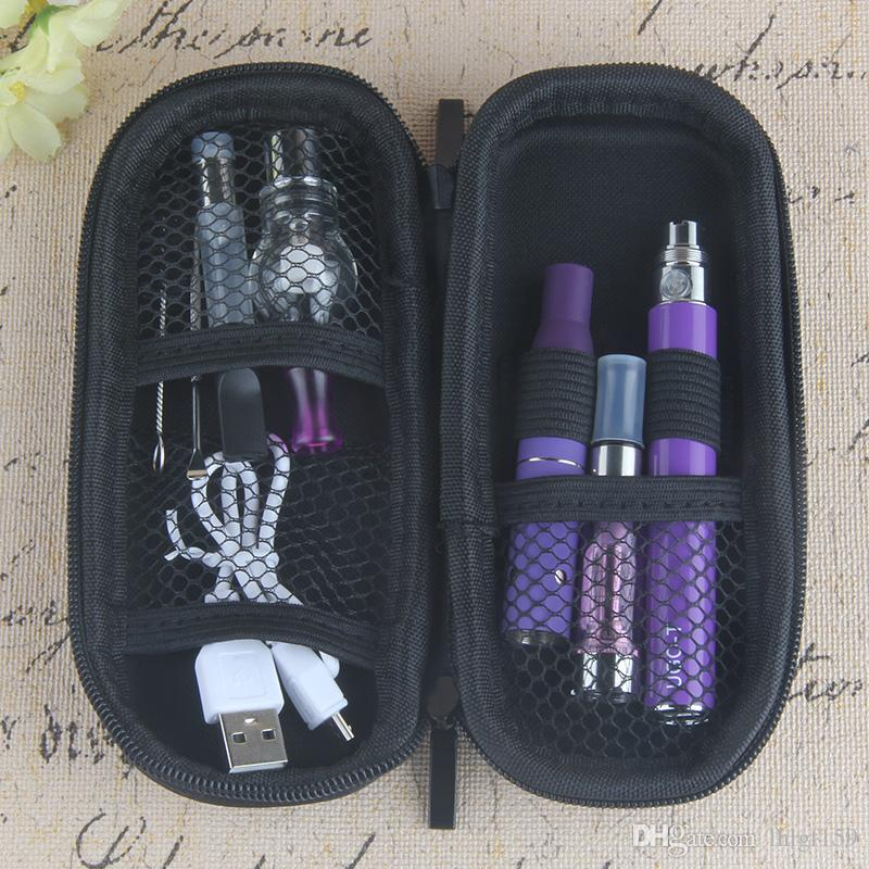 Wholesale 4 in 1 Starter kits CE4 Vaporizer ce3 thick oil vape cartridges wax AGO dry herb e liquid EGO USB Passthrough 510 thread battery