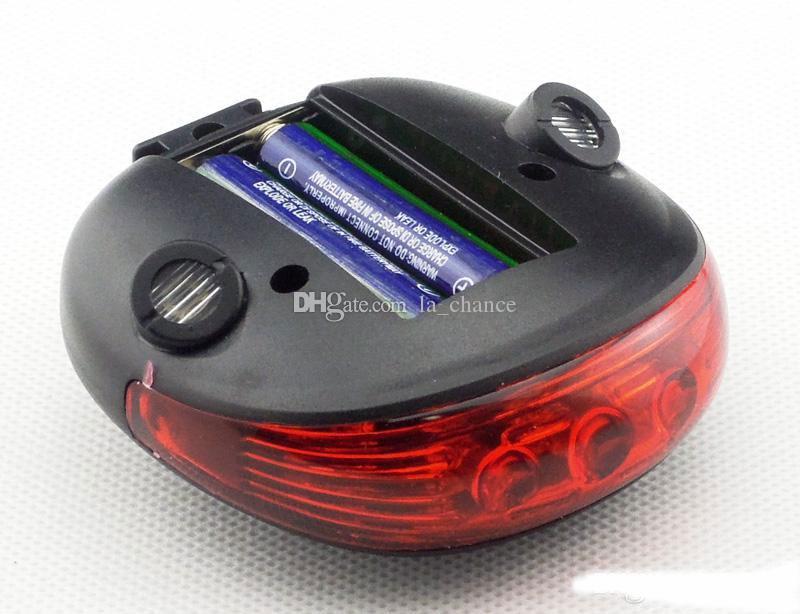 Free DHL Bicycle led Cycling Laser led bike tail light2 Laser + 5 LED, LED light Bike safety bike bycicle light