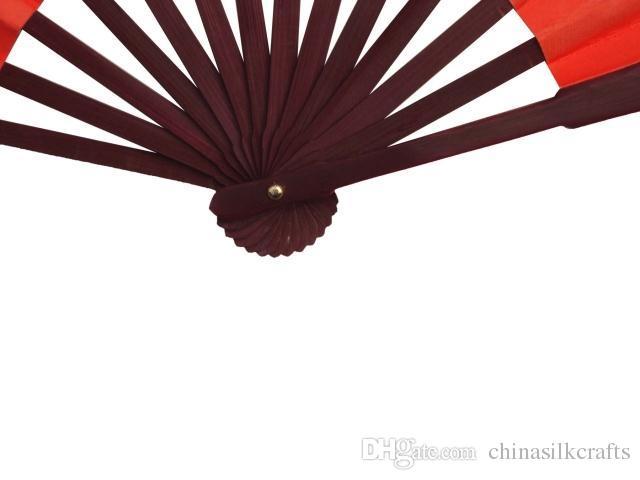 "10"" 8"" Large DIY Plain White Folding Hand Fans Adult Fine Art Painting Programs China Silk Cloth Men Hand Fans Decorative Wedding Fans"