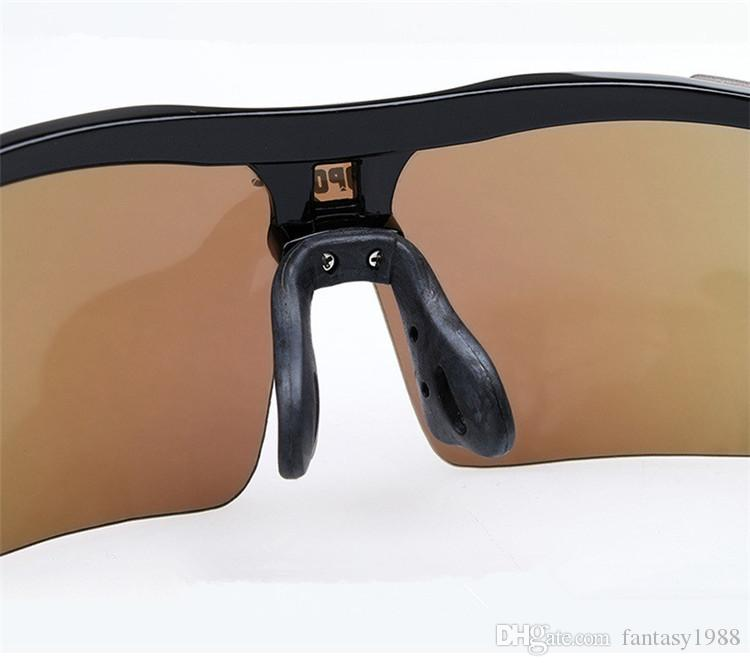 Sunglasses Adult Outdoor Sport Cycling Eyewear Motorcycle Glasses Unisex UV Radiation Protection Goggles PC Myopia Glasses DHL/Fedex Ship