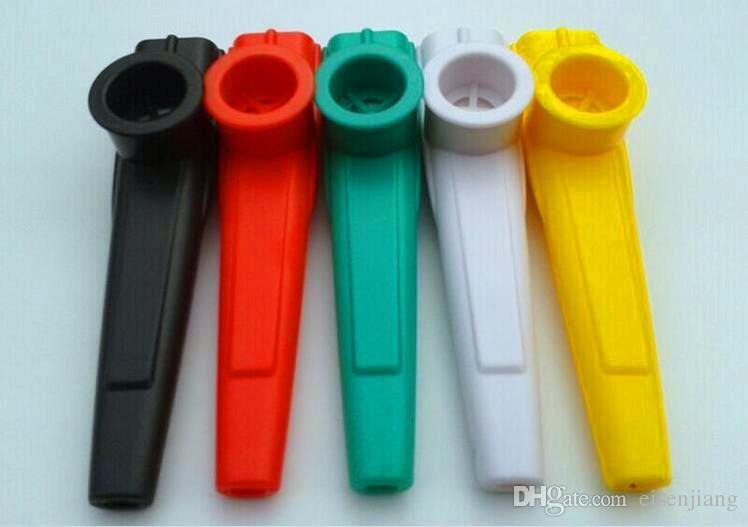 5 pièces de plastique Kazoo Une variété de couleurs de grande qualité, peuvent souffler directement