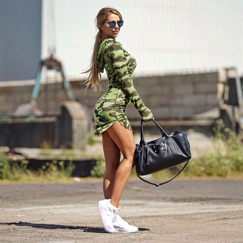 Autumn Summer Hooded Dress Women Mini Dress Camo Camouflage Hoodie Casual  Sexy Slim Hoodie Dress UK 2019 From Alina56 902d5eb502