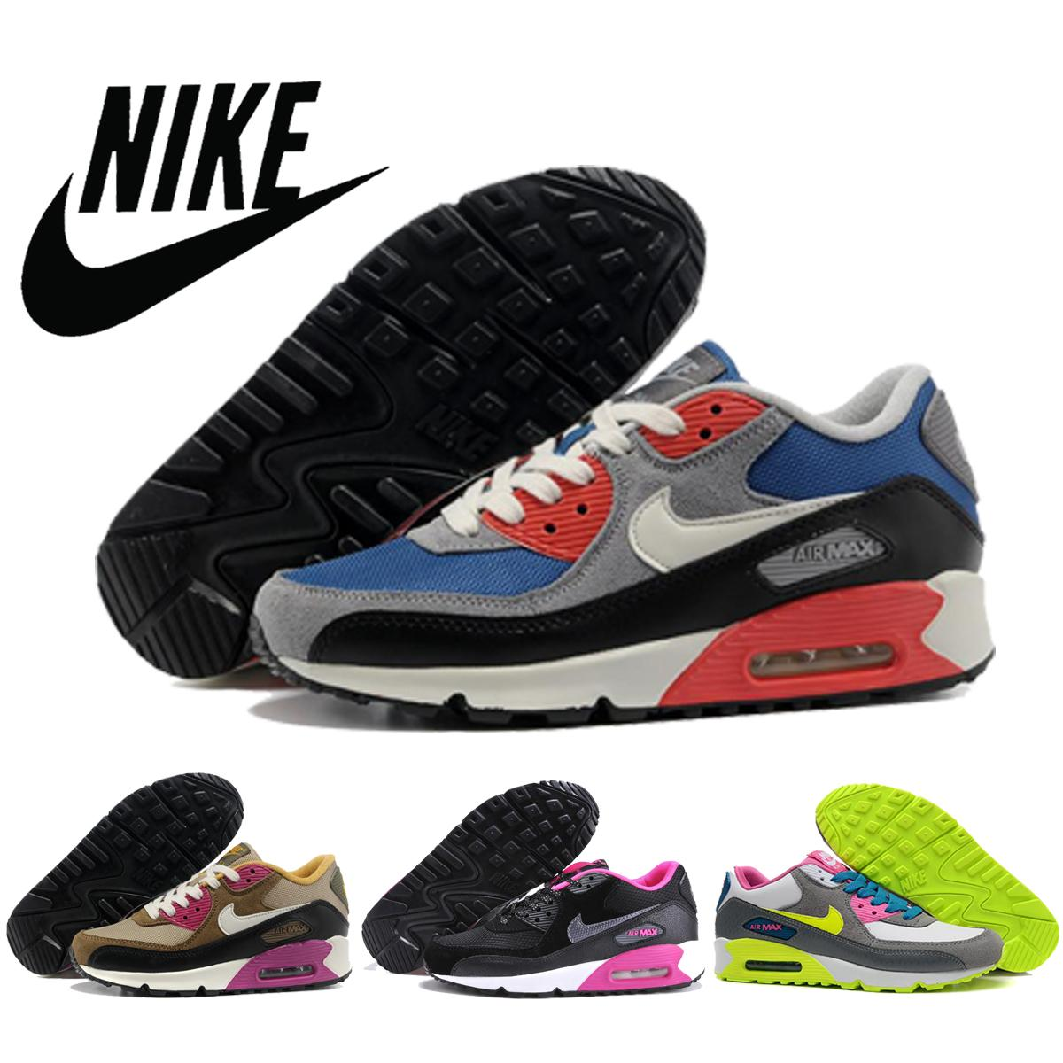 Nike Air Max 90 Women Nike Running Shoes Summer Breathable Sneakers