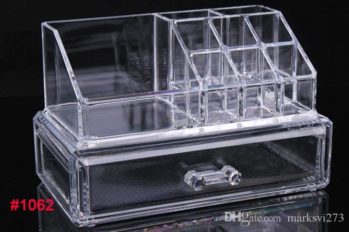 Cassetto acrilico trasparente cosmetici in acrilico