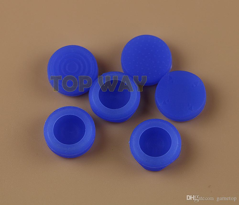 6 In 1 Silicone Thumbstick Grip Tappo Joystick analogico Kit copertura del tasto caso PS Vita PSV 1000/2000 protettivo = 6 pz