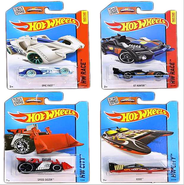 Hot Wheels Classic Cars Toys Miniatures Race Cars Scale