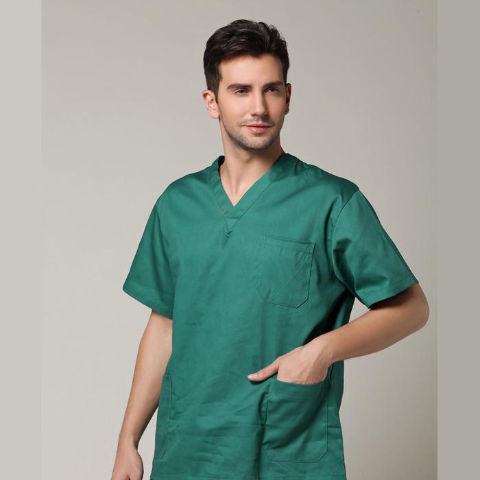 100 cotton surgery uniform spa uniforms massage doctor for Spa uniform cotton