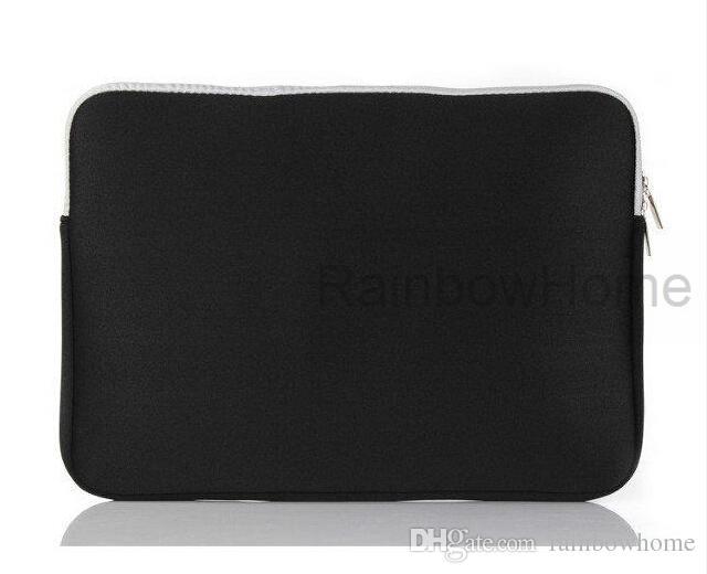 Laptop Slim Caso de Proteção Bolsa Com Zíper Bolsa de Manga Bolsa Para Macbook Air Pro Retina 12 13 15 polegada Saco De Armazenamento Sacos de Viagem Durável