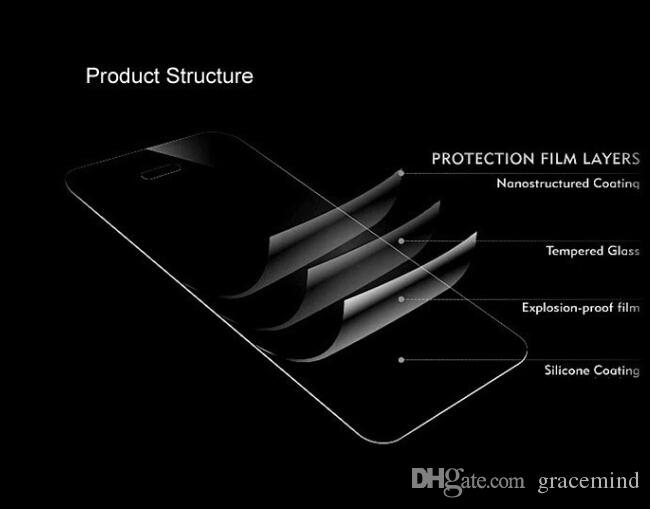 Huawei Mate 8 Mate 7 Premium Tempered Glass Protective Film 9H Hardness ultra-thin Front Screen Protector