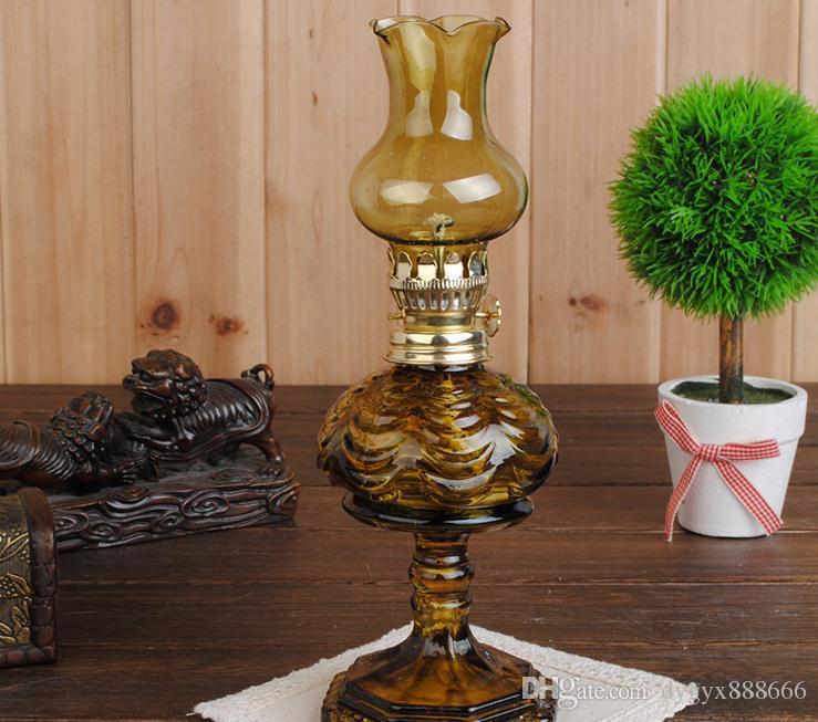 Envío libre al por mayor ----- 2015 nueva lámpara de cristal del alcohol del pie de la piña del color, piezas de la cachimba / del bong, tamaño: 24 * 9 * 4 * 14cm, color corrió
