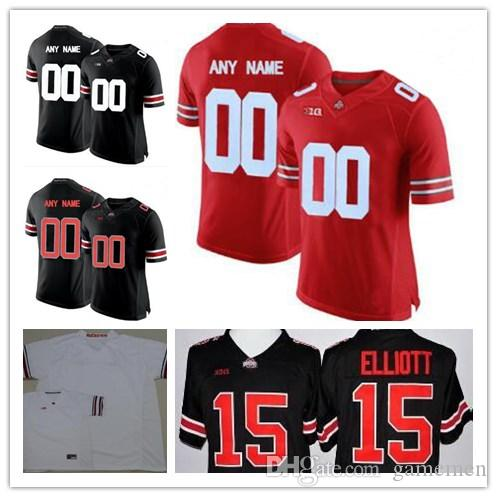 custom buckeyes jersey