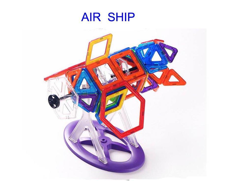 Variety Children Building Blocks Pulling Blocks Magnetic Sheet Magnetic Wisdom Magic Hot Sale