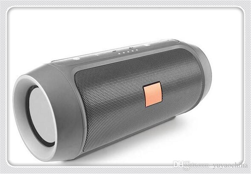 새로운 블루투스 스피커 서브 우퍼 스피커 무선 블루투스 미니 스피커 충전기 2+ 딥 서브 우퍼 스테레오 휴대용 로고없이 로고 DHL