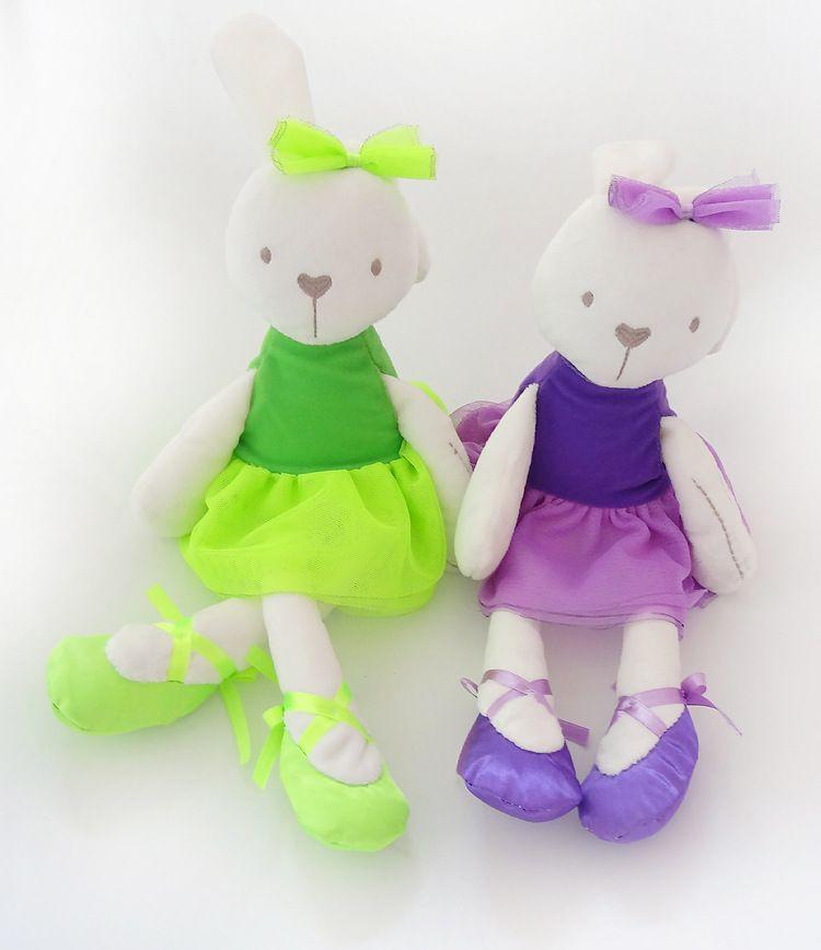 новый 35*8 см большой мягкий чучела животных Кролик кролик игрушка для девочка Kid mamamiyappas кролик кукла объятие Baby спокойной кукла Спящая плюшевые игрушки