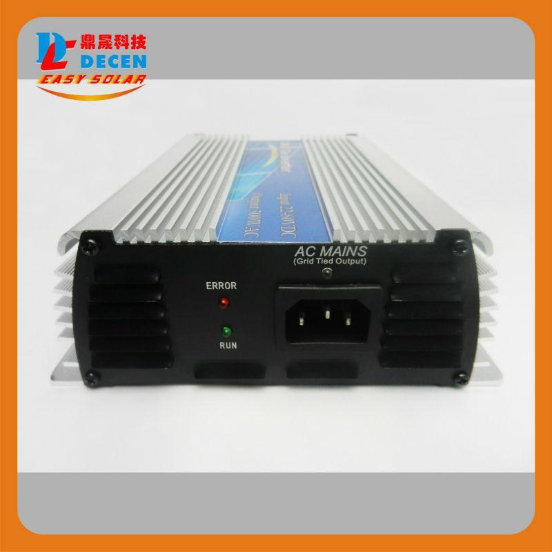 Decen @ 10.5-30VDC 300W الشبكة الشمسية التعادل نقية جيبية موجة السلطة العاكس الناتج 90-140VAC، 50HZ / 60HZ، لنظام الطاقة الشمسية المنزلية