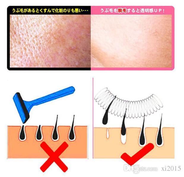 Facial Hair Remover Enlèvement Bâton Filetage Epistick Épilateur Printemps En Gros de Haute qualité En Vrac Livraison gratuite