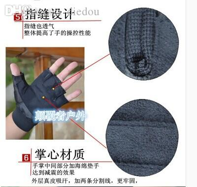12548a815b Wholesale-Explosion-proof Security Duty Tactical Gloves Racing  Mountaineering Gifted F Half-finger Gloves Gloves Mtb Glove Glove Glove Boy  Online with ...
