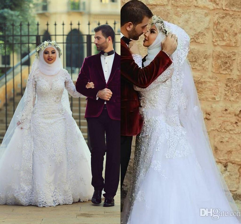 Cheap muslim wedding dresses wedding dresses designs for Cheap muslim wedding dresses