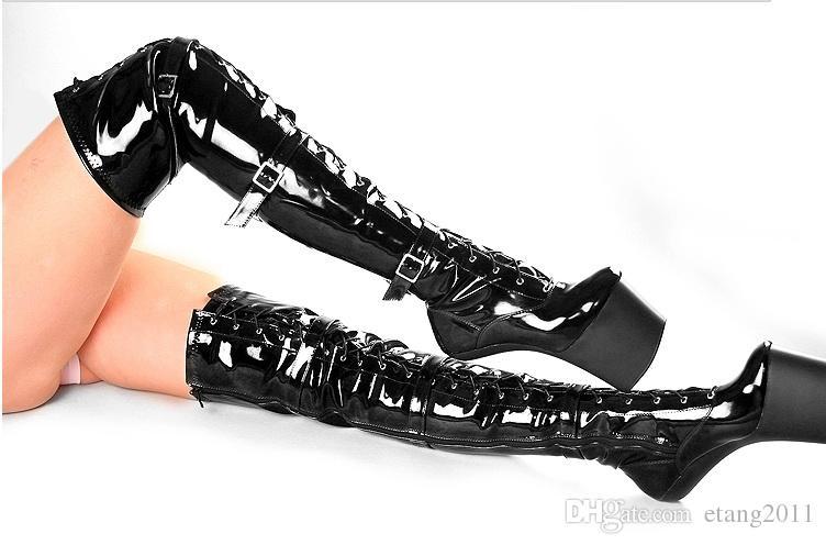 الشحن مجانا الجنس لعب للجنسين مثير بدسم sm لعبة اللعب المهر لا كعب صنم الفخذ أحذية عالية عبودية حدوة الكعب
